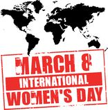 March 8 - women's day Royalty Free Stock Images