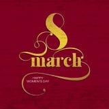 8_march Imagens de Stock Royalty Free