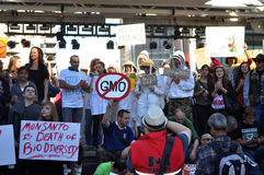 March Against Monsanto, Toronto Royalty Free Stock Photos