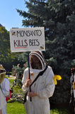 March Against Monsanto, Toronto Royalty Free Stock Photo