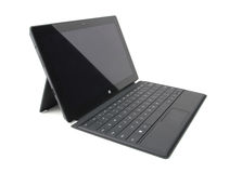 Microsoft Surface Pro tablet Royalty Free Stock Images