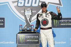 NASCAR: March 11 Ticket Guardian 500k. March 11, 2018 - Avondale, Arizona, USA: Kevin Harvick 4 celebrates in victory lane after winning the Ticket Guardian 500k stock photo