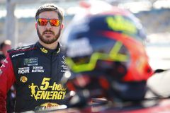 NASCAR: March 09 Ticket Guardian 500k. March 09, 2018 - Avondale, Arizona, USA: Martin Truex, Jr 78 gets ready to qualify for the Ticket Guardian 500k at ISM stock photos
