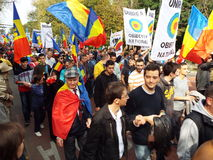 March for Basarabia Stock Photos