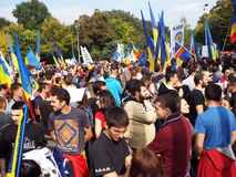 March for Basarabia Royalty Free Stock Image