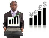 Marché boursier Images stock