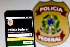 March 10, 2019, Brazil. Homepage of the stock images