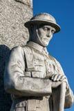 MARCH, CAMBRIDGESHIRE/UK - NOVEMBER 23 : Statue of remembrance i Stock Photos