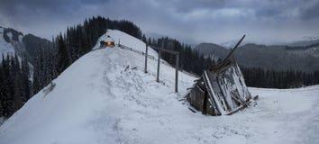 March Carpathians Royalty Free Stock Photo