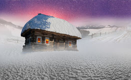 March Carpathians Royalty Free Stock Images