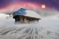 March Carpathians Stock Photo