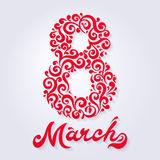 March 8 Royalty Free Stock Photos