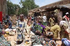 Marché dans Djenne, Mali Photos libres de droits