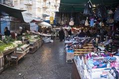 Marché de Ballaro à Palerme Photo stock