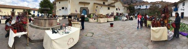 Marché de Cusco Image stock