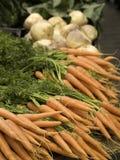 Marché de légumes Photos libres de droits