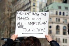 March de protestation photo libre de droits