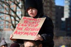 March de protestation photographie stock