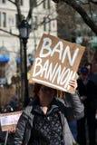 March de protestation Photographie stock libre de droits