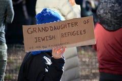 March de protestation photo stock