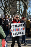 March de protestation images libres de droits