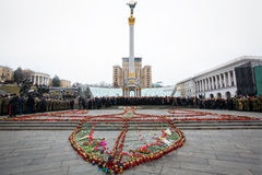 March of Dignity in Kyiv Stock Photos