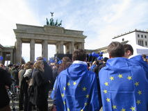 March for Europe Berlin Stock Photography