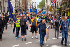 March for Europe Stock Photos