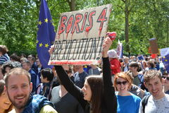 March for Europe 2nd July 2016 - London Royalty Free Stock Photos