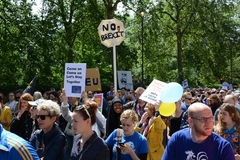 March for Europe 2nd July 2016 - London Stock Photo