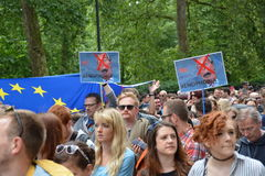 March for Europe 2nd July 2016 - London Stock Images