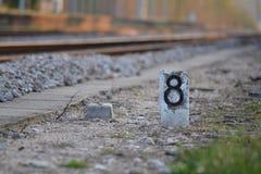 March flag railways Stock Photography