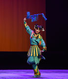 """March forward courageously-Children's Beijing Opera""""Yue teenager"""" Stock Image"""