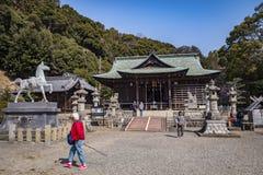 Katahara Shrine, Gamagori, Japan stock photos