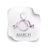 March 8 greeting card. Royalty Free Stock Image