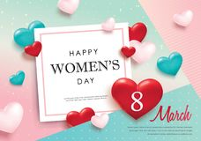 International Women`s Day Stock Photography
