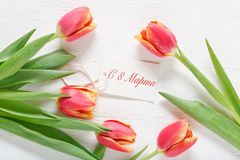 8 march happy womens day royalty free stock photo