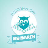 28 March Historian day Royalty Free Stock Photography