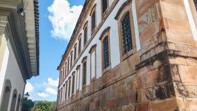 March 25, 2016, historic city of Ouro Preto, Minas Gerais, Brazil, former prison of the colonial period. March 25, 2016, historic city of Ouro Preto, Minas Royalty Free Stock Image