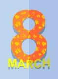 8 March. International women's day. Stock Photo