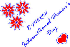 8 March International Women`s Day. Women`s Day, 8 March International Women`s Day Stock Photos