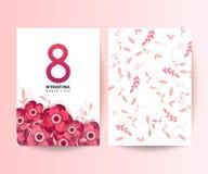 8 March. International Women`s Day. stock illustration