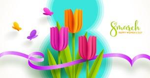 8 March International women`s day illustration. royalty free stock image
