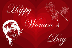 8 March International Women`s Day Stock Photos