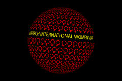 8 March International Women`s Day. Womens day, 8 March International Women`s Day Royalty Free Stock Photos