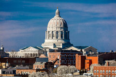 MARCH 4, 2017 - JEFFERSON CITY - MISSOURI - Missouri state capitol building in Jefferson City Stock Photos