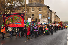 March in Lancaster Royalty Free Stock Photos