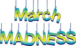 Free March Madness Hanging Sign Stock Photos - 170149403