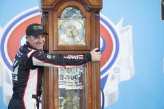NASCAR: March 26 STP 500. March 26, 2018 - Martinsville, Virginia, USA: Clint Bowyer 14 wins the STP 500 at Martinsville Speedway in Martinsville, Virginia stock image