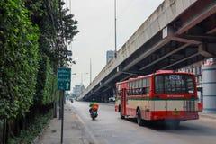 March 16, 2020, Mel 206 car running on the Pattanakarn road, Thailand.